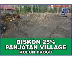 Tanah Investasi, Panjatan Village, POTONG 25%