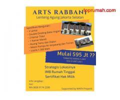 KPR Syariah Arts Rabbani Lenteng Agung Jakarta Selatan