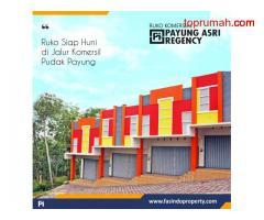 Ruko Pudak payung Semarang - Lokasi strategis dan lingkungan ramai