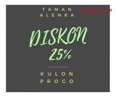 Taman Alenka Kulonprogo, Tersedia 63 Lokasi, dan Potongan Harga 25%