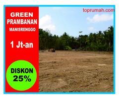 Kapling SHM Pusat Wisata Jogja Green Prambanan