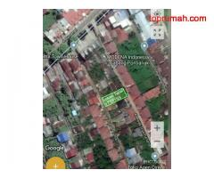 Tanah Dijual Jalan Purnama 1,Griya Purnama.Luas Tanah:17,5X19,5=341m², Siap Bangun.