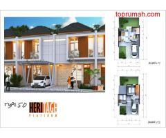 Promo 5 Unit pertama Heritage Platinum Gabusan dr 738Jt