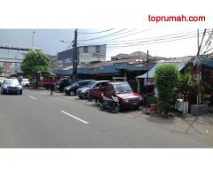Tanah Prospektif Bonus 7 Kios Aktif percetakan di Senen Jakarta pusat