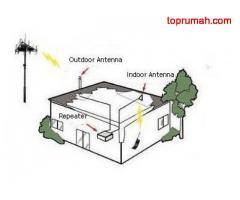 pasang antena penguat sinyal gsm 2g 3g  kalimantan bali sumaatra