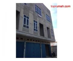 Dijual Murah Ruko 3 lantai dekat pelabuhan Jalan Bersama kota pontianak