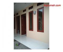 Rumah kontrakan bangunan baru
