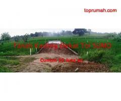Tanah Kavling Strategis Cocok Untuk Dibangun Maupun Investasi