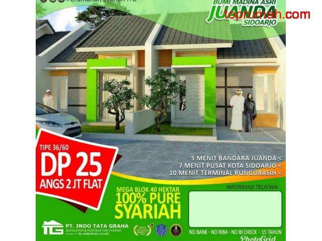 Rumah Murah 1 Lantai Dp Dan Cicilan Ringan Dekat Surabaya Sidoarjo