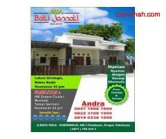 Rumah di solo baru Baiti Jannati Free desain Info Andra999