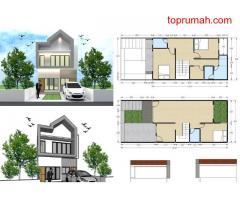 gress Dijual rumah baru ditaman malaka-pondok-kelapa-duren-sawit, Jakarta Timur