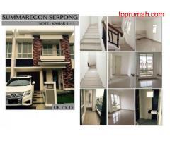 RUMAH DIJUAL: Dijual Rumah Cluster Faraday Summarecon Lokasi Berkembang (Serpong Summarecon) (Farada