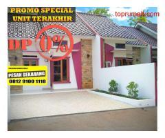 Rumah siap Huni Tanpa DP Di Depok