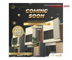 Pre launch rumah mewah 2 lantai Pesona Residence Serpong