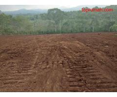 Tanah kavlingan Cv.pesona indah berinvestasi dengan hunian/ruang usaha disimpang rantau unji karang