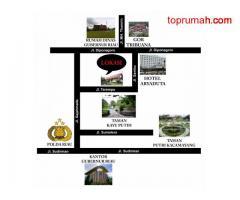 Dijual Tanah dan Bangunan di Jl. Sudirman/Jl. Sambu