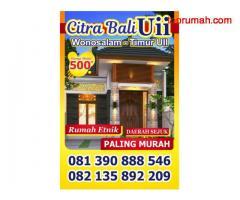 Rumah Etnik Bali Type Besar di Yogyakarta
